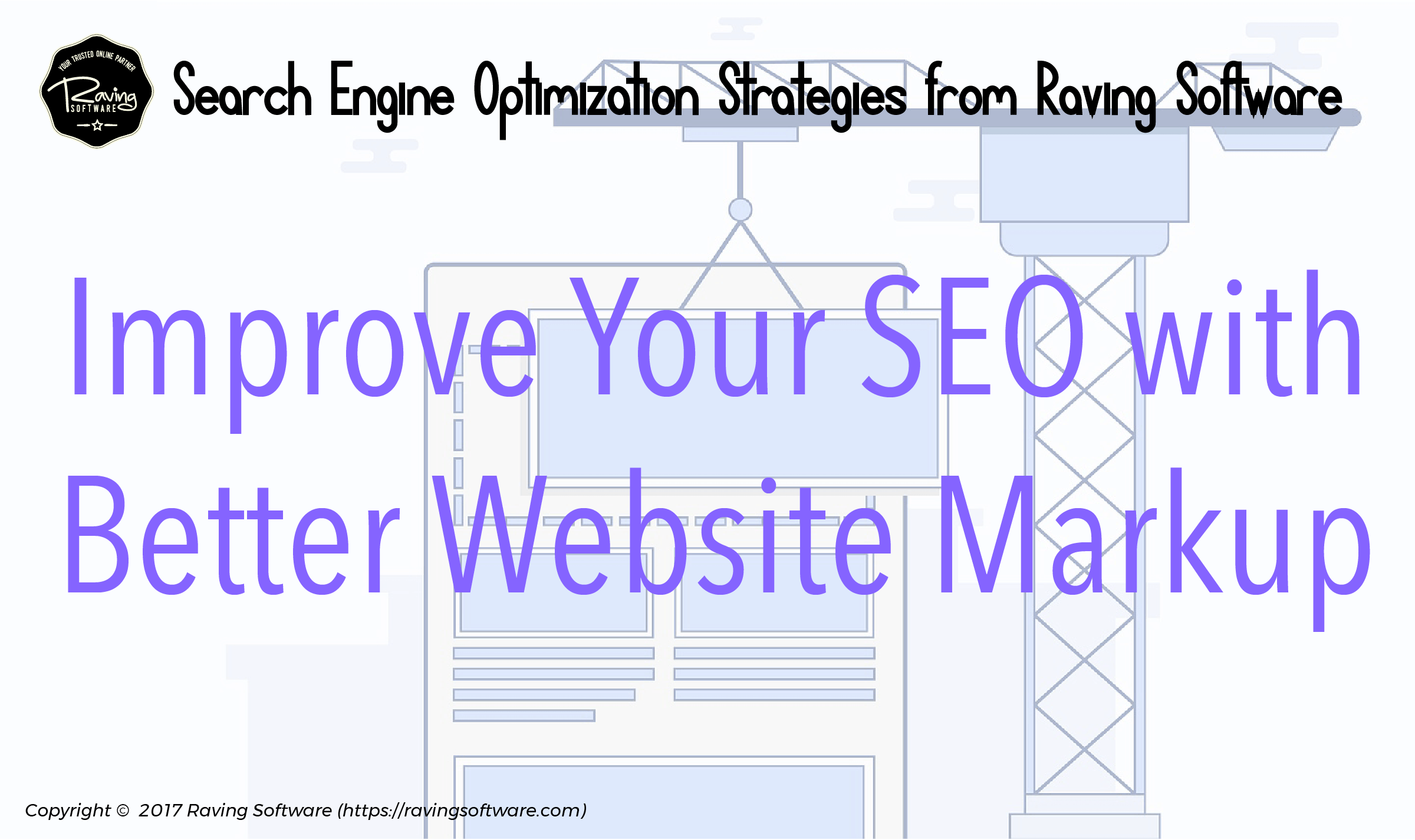 How to build your web pages so they help your SEO ranking.