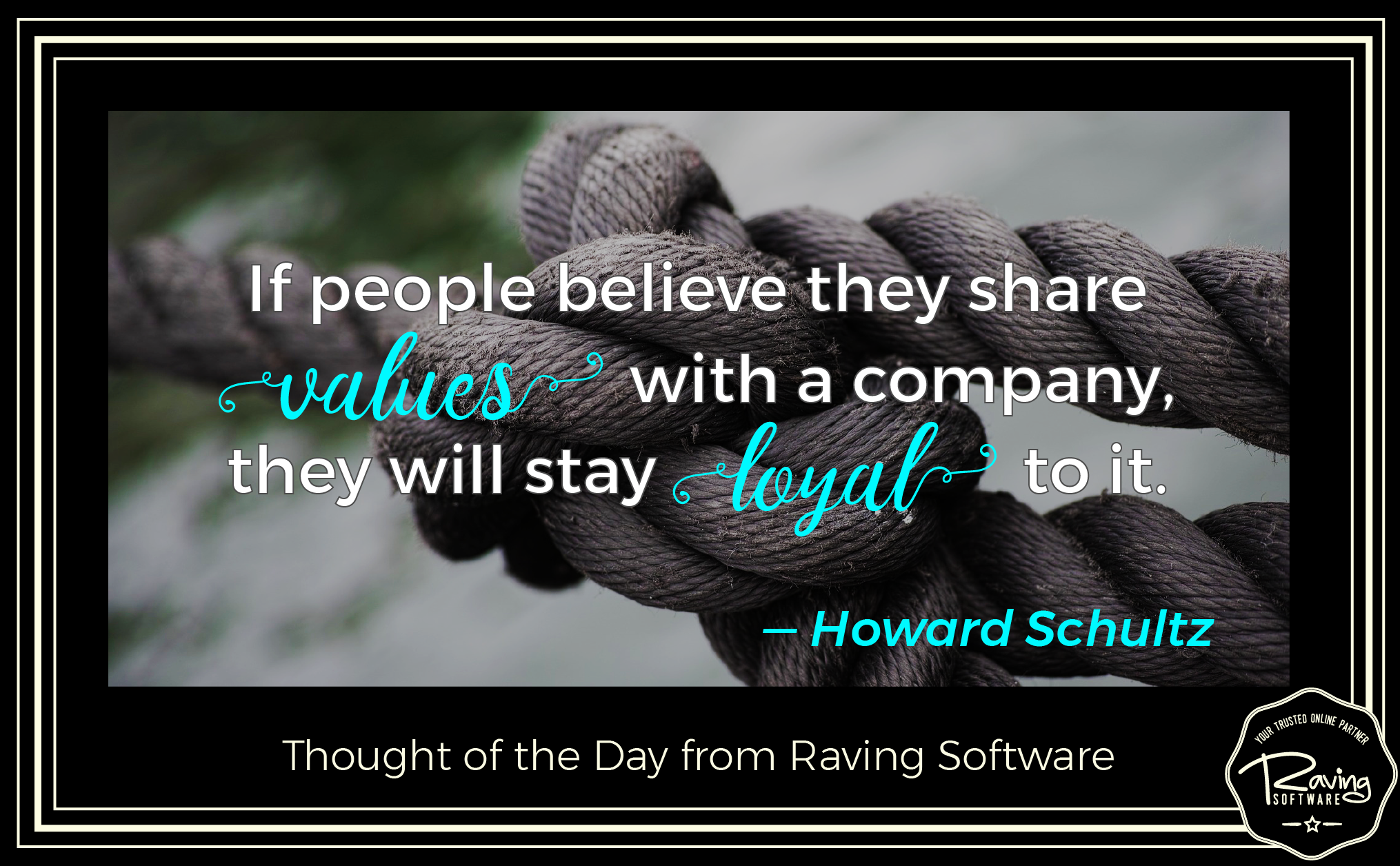 Raving Software Thought of the Day