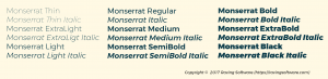 Choose a typeface that has lots of variations.