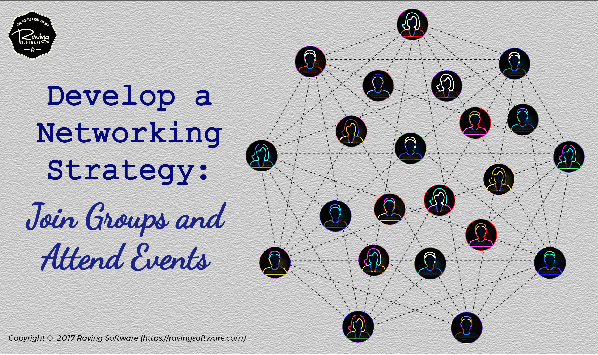 How to fit networking into your schedule.