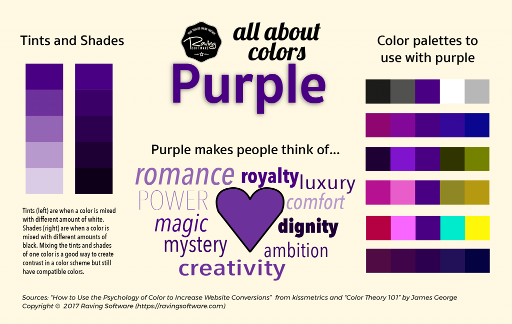 How to use purple in your business's branding