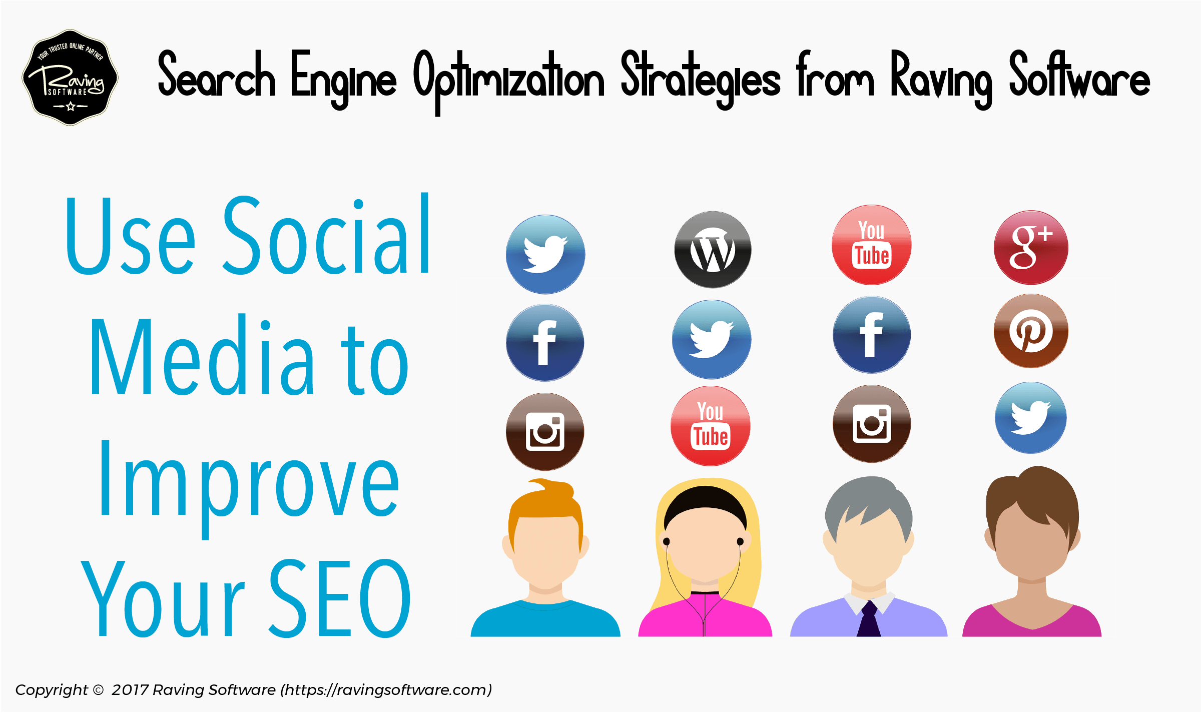 Social media platforms can improve your SEO ranking