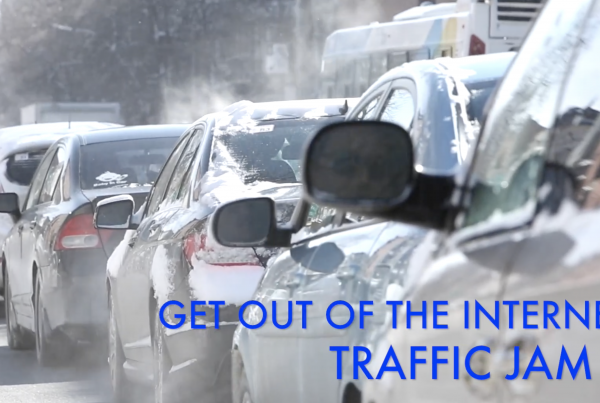 Get out of the internet traffic jam. Call Raving Software