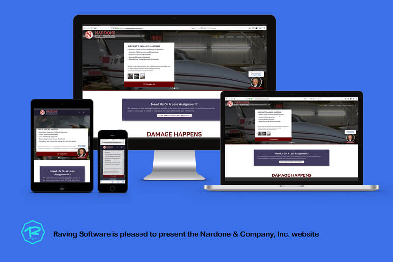 The Nardone & company, Inc. website was designed and implemented by Raving Software