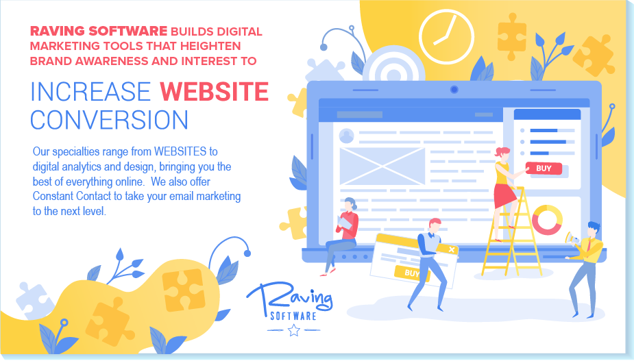 RAVING SOFTWARE CREATES DIGITAL MARKETING TOOLS TO HELP YOU SUCCEED WITH YOUR eMARKETING CAMPAIGN